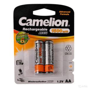 Аккумулятор Camelion R6/AA 1500mAh Ni-Mh BL2 (24/384) [NH-AA1500BP2] 00000016