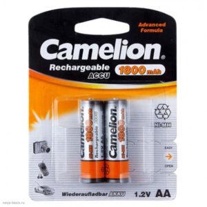 Аккумулятор Camelion R6/AA 1800mAh Ni-Mh BL2 (24/384) [NH-AA1800BP2] 00000017