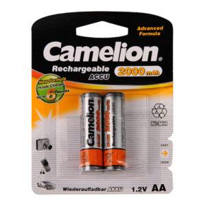 Аккумулятор Camelion R6/AA 2000mAh Ni-Mh BL2 (24/384) [NH-AA2000BP2] 00000018