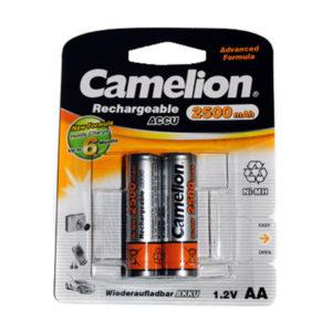 Аккумулятор Camelion R6/AA 2500mAh Ni-Mh BL2 (24/384) [NH-AA2500BP2] 00000022