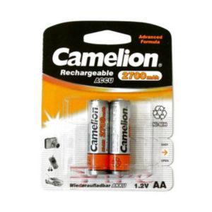 Аккумулятор Camelion R6/AA 2700mAh Ni-Mh BL2 (24/384) [NH-AA2700BP2] 00000024