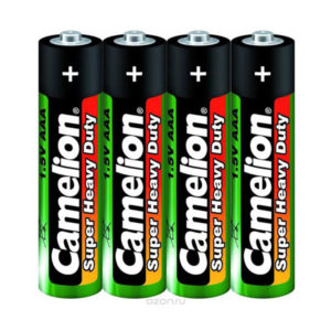 Батарейка Camelion Super Heavy Duty Green R03/ААА S4 (60/1200) [R03P-SP4G] 00000166