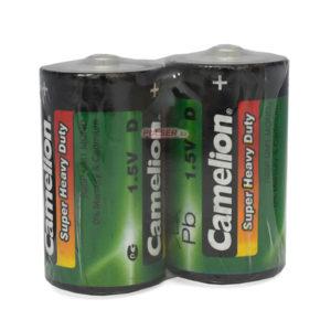 Батарейка Camelion Super Heavy Duty Green R20/D SP2G (12) 00000176