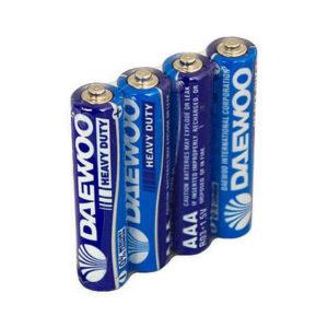 Батарейка Daewoo Heavy Duty R03/ААА S4 (40/960) [R3HD-4S] 00000184