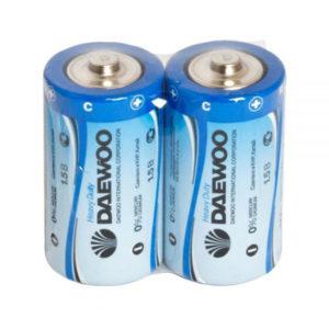 Батарейка Daewoo Heavy Duty R14/С S2 (24/480) [R14HD-2S] 00000186