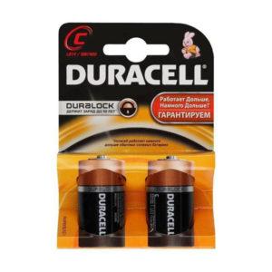 Батарейка Duracell Base LR14/С BL2 (20/60) [МN1400] 00000203