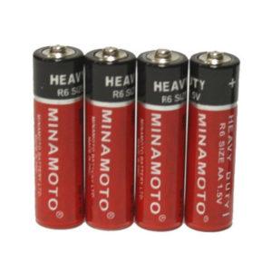 Батарейка Minamoto Heavy Duty R03/ААА S4 (60/1200) 00000274