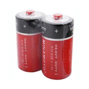 Батарейка Minamoto Heavy Duty R14/С S2 (24/480) 00000276
