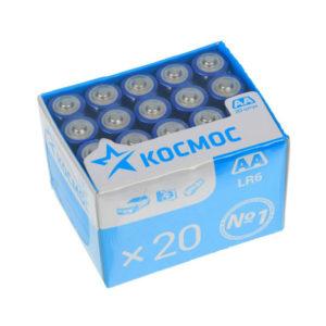 Батарейка Космос Alkaline LR03/ААА box20шт.(20/640) 00000368