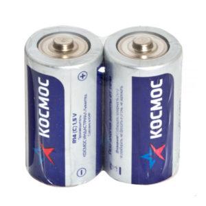 Батарейка Космос Zinc Carbon R20/D S2 (24/288) 00000385
