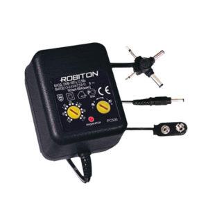 Блок питания Robiton PC500 AC/DC,1,5-12V,500mАh (20/40) 00000594