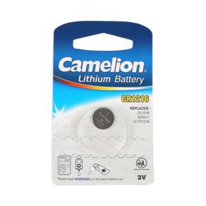 Батарейка Camelion Lithium CR-1216 3V BL1 (10/1800) 00001429