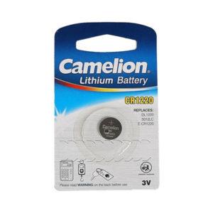 Батарейка Camelion Lithium CR1220 3V BL1 (10/1800) 00001430