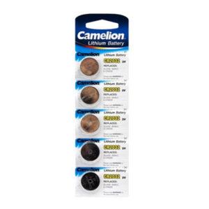 Батарейка Camelion Lithium CR2032 3V BL5 (50/1800) [CR2032-BP5] 00001440