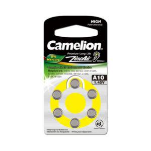 Батарейка Camelion Zinc Air A10/PR70 1.4V BL6 (60/1800) 00001447