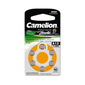 Батарейка Camelion Zinc Air A13/PR48/AG5 1.4V BL6 (60/1800) 00001448