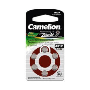 Батарейка Camelion Zinc Air A312/PR41 1.4V BL6 (60/1800) 00001449