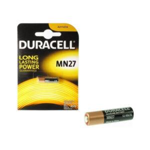 Батарейка Duracell Alkaline 27AE 12V BL1 (10/200) [MN27] 00001458
