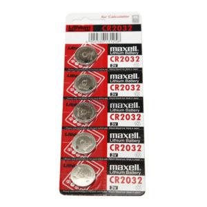 Батарейка Maxell Lithium CR2032 3V BL5 (5/100) 00001480