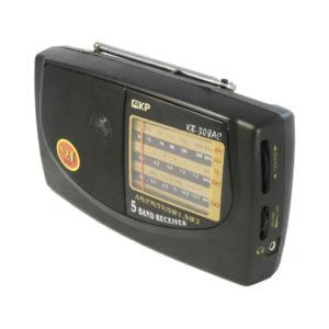 Радиоприемник KIPO КВ-308 AC/DC аналоговый тюнер, питание от 220В/2хR20, шнур (40) 00002532