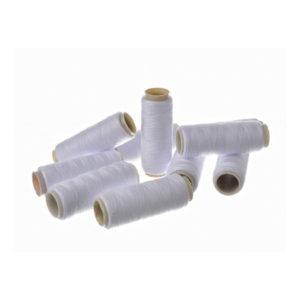 Runis Нитки полиэфирные штапельные белые 40/2 10шт/120м (10/1000) 00002541