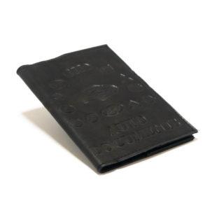 Обложка на автодокументы натуральная кожа «Люкс» с вкладышем ПВХ в комплекте, цвет: микс (10/500) 00002678