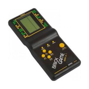 Тетрис Е-9999 пластиковый, LED дисплей 4х2.8см, 2хR6/АА в комплект не входят, 18.5х7.7х1.95 (100/200) 00002783