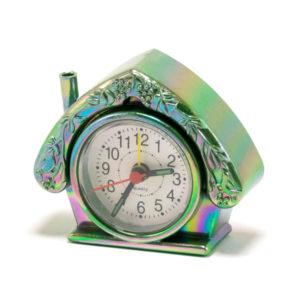 Будильник Xinda XD-121 Домик,перламутровый пластик,9х7.5х3 см (1) 00003029