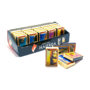 Зажигалка газовая карманная пьезо «Haierda» HR-975 Спичечный коробок 6х3.6х1см (25/1000) [SQ-01] 00003284