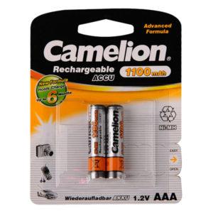 Аккумулятор Camelion R03/AAA 1100mAh Ni-Mh BL2 (24/480) [NH-AAA1100BP2] 00003844