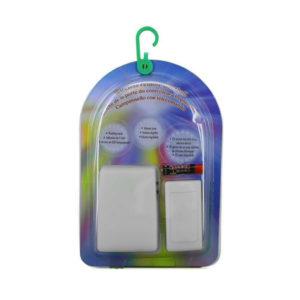 Звонок дверной беспроводной Ossca RD-288RD 25мелодий,1ресивер,1кнопка,3хR06,1хR03,3 режима, свет.индик.,80м,BL1(40) 00003997