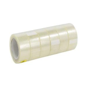 Односторонняя клейкая лента прозрачная 48мм х 100Y (d.m.95) 40мкм Альянс (6/36) [055Х] 00004328