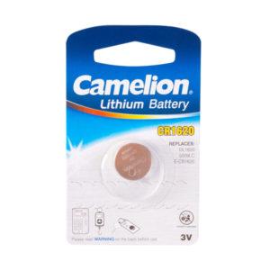 Батарейка Camelion Lithium CR1620 3V BL1 (10/1800) 00004344