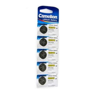 Батарейка Camelion Lithium CR2016 3V BL5 (50/1800) [CR2016-BP5] 00004346