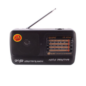 Радиоприемник KIPO КВ-409 AC/DC аналоговый тюнер,питание от 220В/2хR20, шнур (40) 00004538