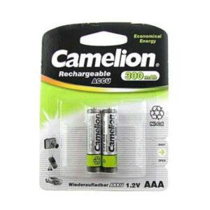 Аккумулятор Camelion R03/AAA 300mAh Ni-Cd BL2 (24/480) [NC-AAA300BP2] 00004764