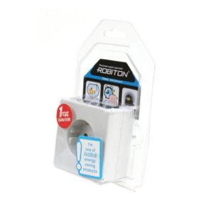 Бытовой таймер электронный Robiton EL-01, неделя/сутки, 10 программ,с розеткой заземл.,16А,3600W BL1 (10/40) 00005438