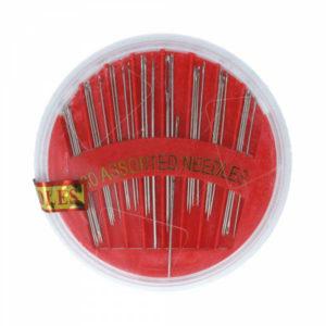 Набор игл для шитья вручную 30шт. «В пластиковом круге» d=6.6см, №991 (25/50/1000) 00005794