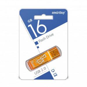 USB 2.0 флеш-накопитель 16Gb Smartbay Clossy Series оранжевая,колпачек [SB16GBGS-Or] 00005852