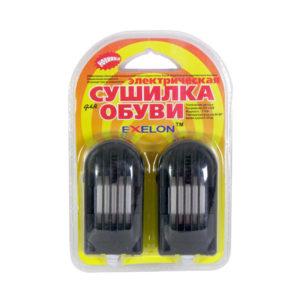 Сушилка электрическая для обуви пластиковая «Exelon» №579 керамические нагревательные элементы, индикатор (20/80) 00006744