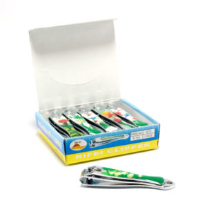 Кусачки-книпсер маникюрные с пилкой 8 см «BO RI» N-353 Цветы цветные накладка пластик. 8х1.4х1.63см. (12/600) 00007006