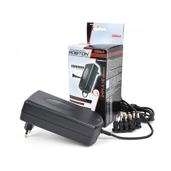 Блок питания Robiton EN3000S AC/DC,3-12V,3 А,импульсный (10) 00007046