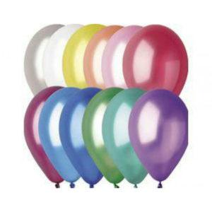 Gemar balloons Шар 12″/30см 100шт. Металлик ассорти (100) [art.11821,GM110 ASS, GM110/82] 00007274