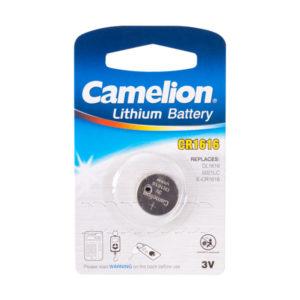 Батарейка Camelion Lithium CR1616 3V BL1 (10/1800) 00007440