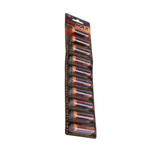 Батарейка Kodak Max Alkaline LR03/ААА BL10 отрывной (100/1000) [K3A-10] 00007483
