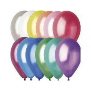 Gemar balloons Шар 10″/26см 100шт. Металлик ассорти (100) [art.09821,GM90 ASS, GM90/82] 00007637