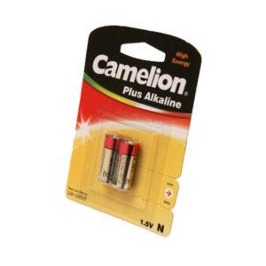 Батарейка Camelion Plus Alkaline LR1/N/MN9100/АМ5 1.5В BL2 (12) 00007656