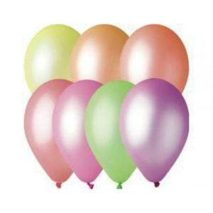 Gemar balloons Шар 10″/26см 100шт. Неон ассорти (100/15000) [art.09811, GF90 ASS, GF90/81] 00007752