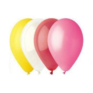 Gemar balloons Шар 10″/26см 100шт. Пастель ассорти (100) [art.09801,G90 ASS,G90/80] 00007753