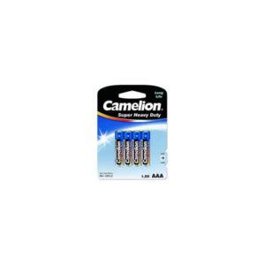 Батарейка Camelion Super Heavy Duty Blue R03/ААА BL4 (48/960) [R03P-BP4B] 00007827